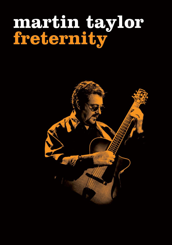 Martin Taylor DVD Freternity cover